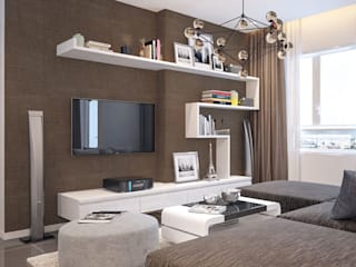 Dự án thiết kế nội thất chung cư Công ty nội thất ATZ LUXURY Phòng khách