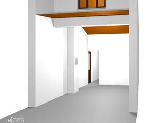 Desenho Branco Eclectic style bedroom