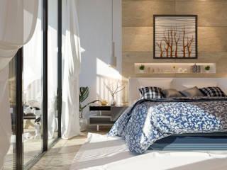 ivvarquitectos Minimalistische Schlafzimmer
