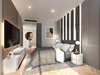 Modernize Design + Turnkey Kamar Tidur Modern Grey