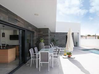 Vivienda Unifamiliar MA_MI_038 Criz Arquitectura Jardines de estilo moderno