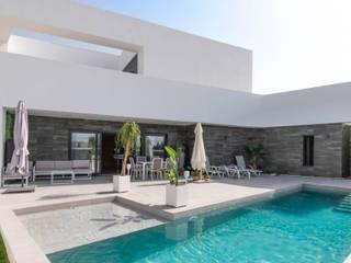 Vivienda Unifamiliar MA_MI_038 Criz Arquitectura Piscinas de estilo moderno