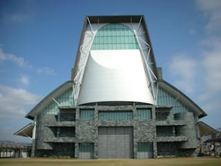 Fachadas de pizarra verde depizarra.com Centros comerciales de estilo moderno Piedra Verde