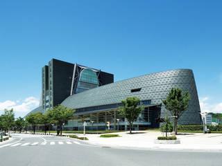 Fachadas de pizarra verde depizarra.com Centros comerciales de estilo moderno Pizarra Verde