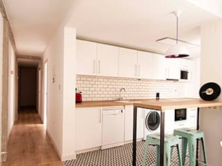 Vivienda unifamiliar GR_GR_004 Criz Arquitectura Cocinas de estilo moderno