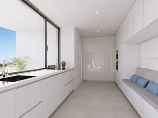 Vivienda Unifamiliar GR_CALI_001 Criz Arquitectura Cocinas de estilo moderno