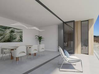 Vivienda Unifamiliar GR_CALI_001 Criz Arquitectura Comedores de estilo moderno