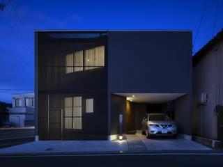 C lab.タカセモトヒデ建築設計 Rumah Modern
