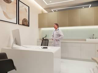 Aesthetic Facial Clinic Modernize Design + Turnkey สปา Beige