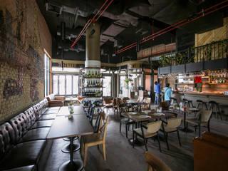 7th street Resturant Modernize Design + Turnkey ห้องทานข้าว Wood effect