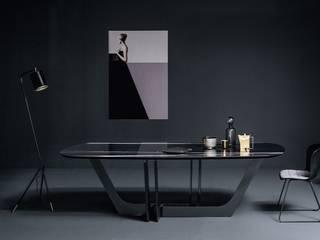 Tavoli, sedie e sgabelli Tanno Arredamenti Sala da pranzo moderna