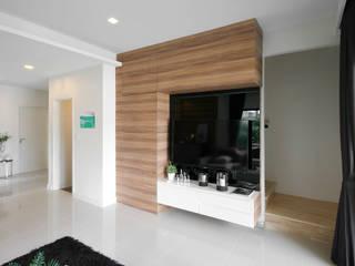 The Plex Modernize Design + Turnkey ห้องนั่งเล่น Grey
