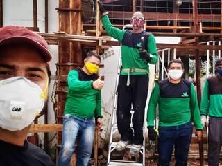 Reforma Fachada Dona Marivanda por Verde Arquitetura e Engenharia