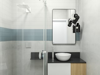 Studio-VF-Arquitetura Kamar Mandi Modern Blue