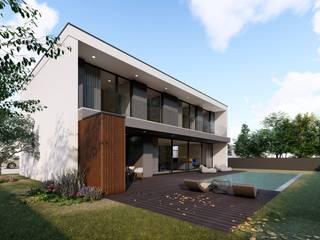 Modern houses by Miguel Zarcos Palma Modern