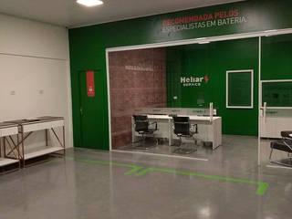 Tanaka Engenharia Industrial style study/office