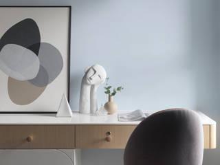 Dormitorios de estilo ecléctico de 知域設計 Ecléctico