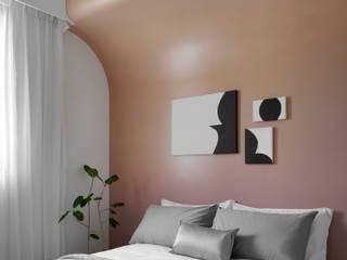 Dormitorios de estilo escandinavo de 知域設計 Escandinavo
