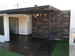 Roof Garden Benito Juarez CDMX F.arquitectos Balcones y terrazas minimalistas