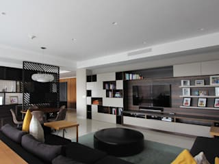 Modern style media rooms by ARCO Arquitectura Contemporánea Modern
