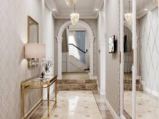 DesignNika Couloir, entrée, escaliers classiques
