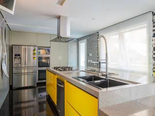 Spazhio Croce Interiores CocinaElectrónica Aluminio/Cinc Metálico/Plateado