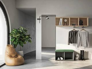 Ingresso Tanno Arredamenti Ingresso, Corridoio & Scale in stile moderno
