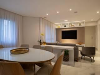 Spazhio Croce Interiores SalonesMuebles de televisión y dispositivos electrónicos Aluminio/Cinc Gris