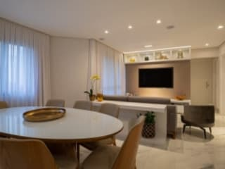 Spazhio Croce Interiores Living roomTV stands & cabinets Aluminium/Zinc Grey