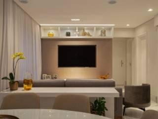 Spazhio Croce Interiores Dining roomAccessories & decoration Ceramic Grey