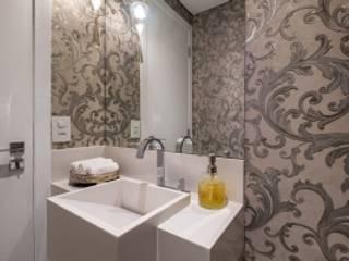 Spazhio Croce Interiores BathroomSinks Ceramic White
