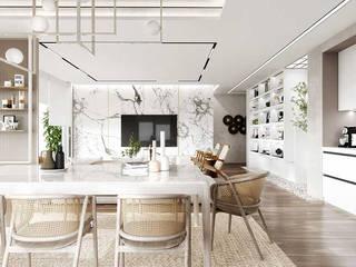 Thiết kế chung cư gần gũi với thiên nhiên Thiết Kế Nội Thất - ARTBOX