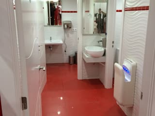 JCB REFORMAS INTEGRALES Bar & Klub Modern Keramik Red