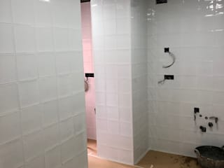 JCB REFORMAS INTEGRALES Dapur Gaya Rustic Keramik White