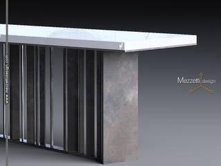 Mezzettidesign Living roomSide tables & trays Iron/Steel