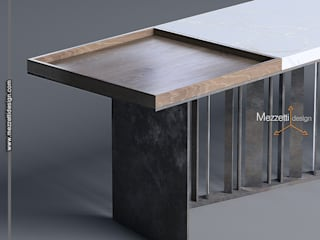 Mezzettidesign Living roomSide tables & trays Wood White