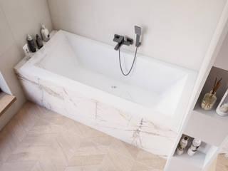 Casas de banho modernas por Domni.pl - Portal & Sklep Moderno