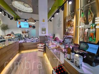 Reforma de un local comercial Olibher Cimbra47 Estudios y despachos de estilo rural