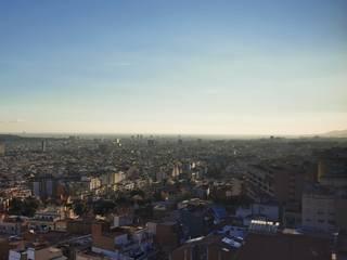 REFORMA DE UN PISO CON VISTAS EN BARCELONA senta arquitectura i paisatge Puertas y ventanas de estilo minimalista