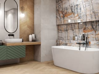 Eclectic style bathrooms by Domni.pl - Portal & Sklep Eclectic