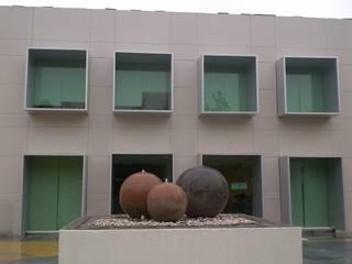 Merkalum Bureau moderne Aluminium/Zinc Métallisé / Argent