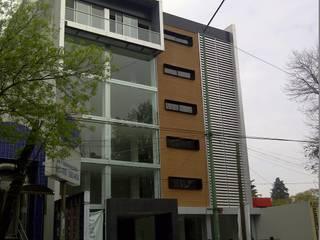 Merkalum Terrace house Aluminium/Zinc Metallic/Silver