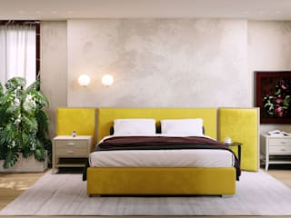 ITALIANELEMENTS BedroomBeds & headboards Solid Wood