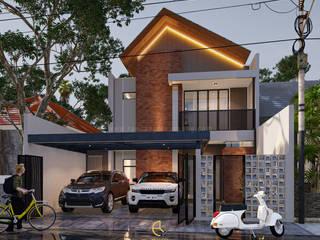 Rancang Reka Ruang Casas unifamiliares Gris