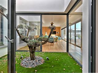 Brunel Architecture Jardines de estilo moderno