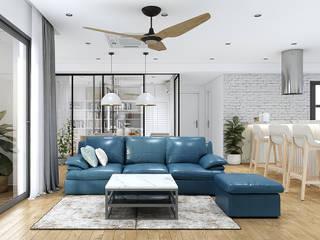 Công ty TNHH Tư vấn thiết kế xây dựng An Khoa Living room