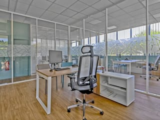 Brunel Architecture Modern Study Room and Home Office