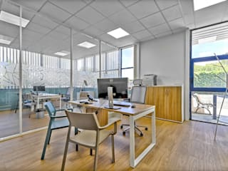 Brunel Architecture Modern style study/office