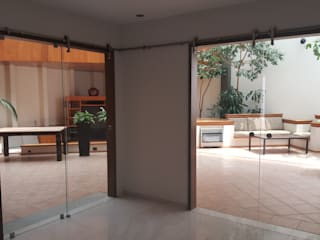Merkalum Glass doors Glass Transparent