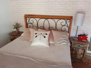Barrocarte 臥室床與床頭櫃 實木 Wood effect